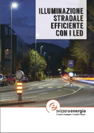 Illuminazione stradale efficiente con LED